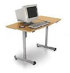 OFM Linea Italia Modular Computer Desk Table 30 x 48 - Model 55220