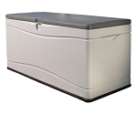 Outdoor Storage Deck Box Lifetime Products 60012 Extra Large 130 Gal.