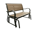 Lifetime Wood Simulated Glider Bench - 60055