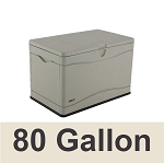 60059 Lifetime 80-Gallon Heavy Duty Outdoor Storage Deck Box