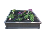 Lifetime Raised Garden 60065 Garden Patio Equipment 4 x 4 ft. Garden