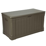 LIfetime Outdoor Deck Box and Bench 60089 116 Gal. Capacity