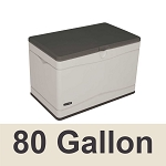 60103 Lifetime Deck Box Storage Box 80 Gallon Capacity