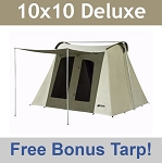 Kodiak Canvas Tent 6010 10x10 ft. Deluxe with Free Gear Loft