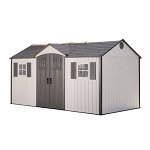 Lifetime 60138 15' x 8' Shed with Vertical Siding and Full Length Ridge Skylight