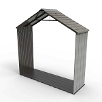 Lifetime Rough Cut Shed Extension Kit 60250 30-in