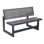 Lifetime 60253 Gray Convertible Bench and Table
