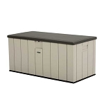 Lifetime 60254 Heavy-Duty Outdoor Deck Storage Box 150 Gallon