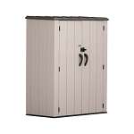 Lifetime Vertical Storage Shed 60280 53-Cubic Feet Capacity