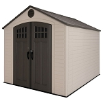 Lifetime Storage Shed 60332 8x10 Plastic With Steel Trusses