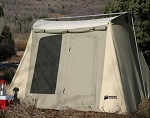 Kodiak Canvas Tent - 6055 Six-Person 10 x 10 Ft. Tent - Hydra-Shield