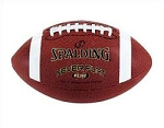 Junior Size Football Spalding Never Flat Technology Composite Leather