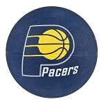 Spalding 65-542E Indiana Pacers Mini Rubber NBA Team Basketball