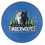 Spalding 65-548E Minnesota Timberwolves Mini Rubber Basketball