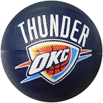 Spalding 65-549E Oklahoma City Thunder Mini Team Basketball