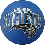 Spalding 65-550E Orlando Magic NBA Team Mini Rubber Basketball