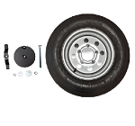 Lifetime 65046 12 in. Spare Tire Trailer Tent Accessory