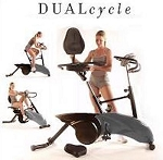 Universal DualCycle 7000 Recumbent Exercise Bike