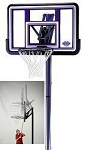 SO Lifetime 71094 44 Acrylic Fusion-ground Basketball Hoop System