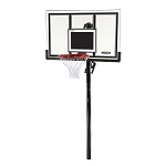 Lifetime Basketball Hoop 71525 54-inch Backboard In-Ground System
