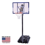 Lifetime 44-Inch Polycarbonate Portable Basketball Hoop (Model 71546)