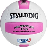 Spalding 72-069T Never Flat King of the Beach Pink Volleyball