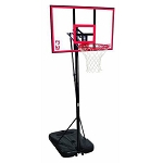 Spalding 44-Inch Polycarbonate Portable Basketball Hoop (Model 72351)