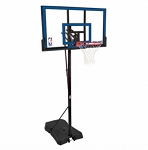 Spalding 48-Inch Polycarbonate Portable Basketball Hoop (Model 73655)