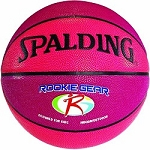 Spalding Rookie Gear 74-322E 27.5-inch Pink Basketball