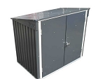 74051 Metal Garbage and Recycle Bin Enclosure