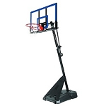 Spalding 50-Inch Acrylic Portable Basketball Hoop (Model 75355)