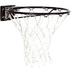 Spalding Basketball Accessories 7809S Black Standard Rim White Net