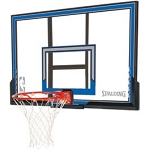 Spalding Basketball Backboard Rim Combo 79349 50-in Polycarbonate Kit