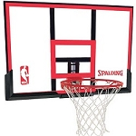 Spalding Basketball Backboard and Rim Combo 79354 48 in. Polycarbonate