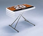 SO Tony Stewart Lifetime 80009 30 In White Granite Personal Table