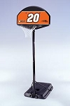 SO Lifetime 80027 44 In Impact Backboard Pro Court Portable Basketball