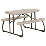 Putty Color Kids Picnic Table - 80232 Lifetime Children's Picnic Table