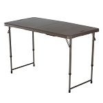 Lifetime Fold-in-Half Folding Tables 48x24 Brown