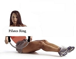 SO Fitness Essentials Exercise Pilates Ring w/ Video