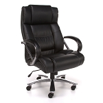 OFM Avenger Series 810-LX Leather Big and Tall Office Chair