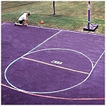 8375SP Spalding Basketball Accessories EZ Court Marking Kit