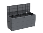 Duramax 86600 DuraBox 270L 71 Gallon Outdoor/Indoor Gray DeckBox