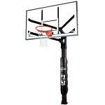 Spalding Arena View Basketball Systems 86724HGP 72 in. Glass Backboard