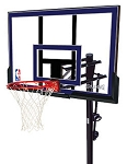 Spalding Inground Basketball Goals - 88355 50 inch Acrylic Backboard