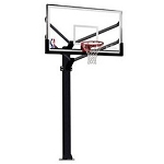 Spalding Arena View Basketball System 886724fs 72 inch Acrylic Goal