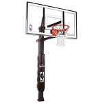 888154 Spalding In-Ground Basketball Hoops 54 in. Glass Backboard