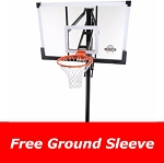 Lifetime In-Ground Basketball Hoop 90014 System 54-in Glass Backboard