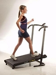 Manual Treadmill - Folding Portable Fold Up Exercise Equipment