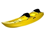 Lifetime Tandem Kayak - 90115 Yellow 10 Ft. Sit-on-Top Kayak