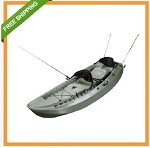 (Replaced by 90121) Lifetime Sit-on-top Kayak - 10 ft. 90117 Green Tandem Fishing Kayak